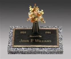Oaklawn Bronze Memorial Grave Marker Monumentsinstone