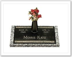 Rose Bronze Memorial Grave Marker Monumentsinstone